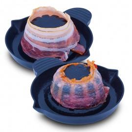 Forma szalonnához mikrohullámú sütőbe