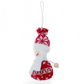 """""""Hóember"""" karácsonyfadísz"""