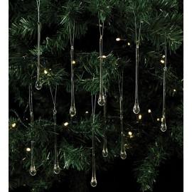 Üveg karácsonyfadísz