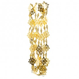 Csillagos girland arany