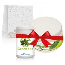 """Ajándékkészlet """"Zöld tea ereje"""""""