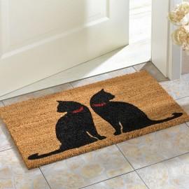 """Két cica"" lábtörlő"