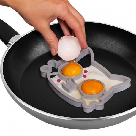 """""""Cica"""" főtt tojás formázó"""