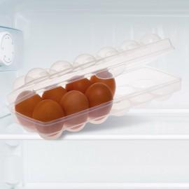 Tojástartó 12 tojásra. 27 x 9,5 x 7 cm