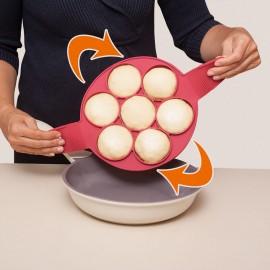 Szilikonforma palacsintasütéshez