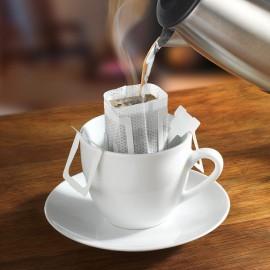 Egyszer használható kávé- és teaszűrők
