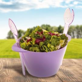 Dizájnos saláta készlet