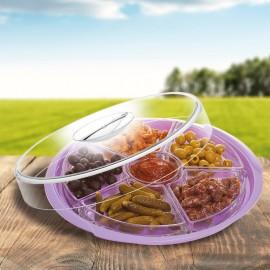 Ízléses, üveg salátástálak