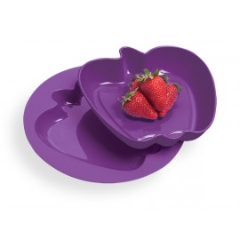 """""""Alma"""" tál és tányér"""