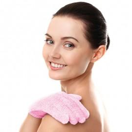Fürdőkesztyű - rózsaszín