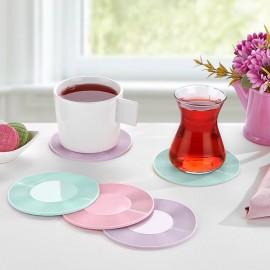 Bögrealátét rózsaszín