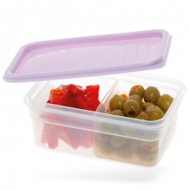Kétkamrás ételtároló doboz