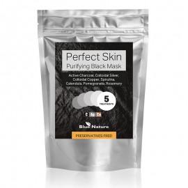 PERFECT SKIN Fekete tisztító pakolás