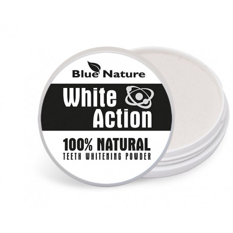 Fogfehérítő por white action 30 ml