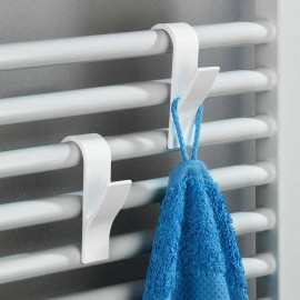 Fürdőszobai radiátor akasztók fehér