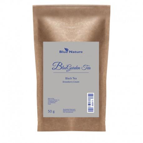 Fekete tea Strawberry Cream