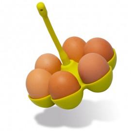 Szilikon kosár tojásfőzéshez