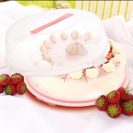 Torta- és süteménytároló