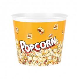 Popcorn vödör sárga színü