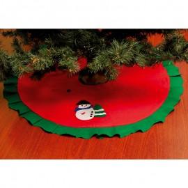 Karácsonyfatalp takaró