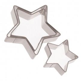 Csillag alakú sütemény kiszúró