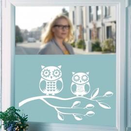 Félig átlátszó ablakfólia