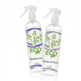 Környezetbarát fürdőszobai tisztítószer+Környezetbarát vízkő- és rozsdaeltávolító készítmény