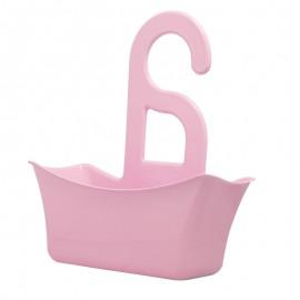 Fürdőszobai szervező rózsaszín