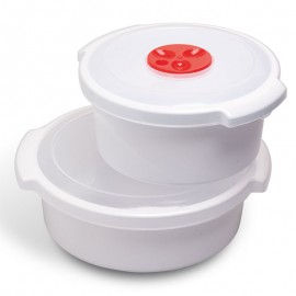 Mikrohullámú sütőbe helyezhető dobozok 1 liter űrtartalmú doboz