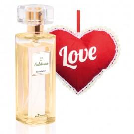 """Andalúziai nyár parfümvíz 50 ml+ """"Szív"""" párnácska ajándékként!"""