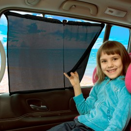 Függöny autóablakra