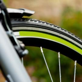 Fényvisszaverő csík biciklikerékre