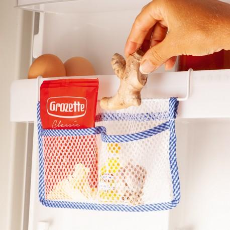 2 x tároló zsebek hűtőszekrénybe