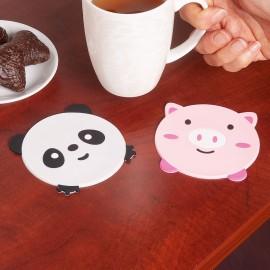 Csúszásgátló bögrealátét panda