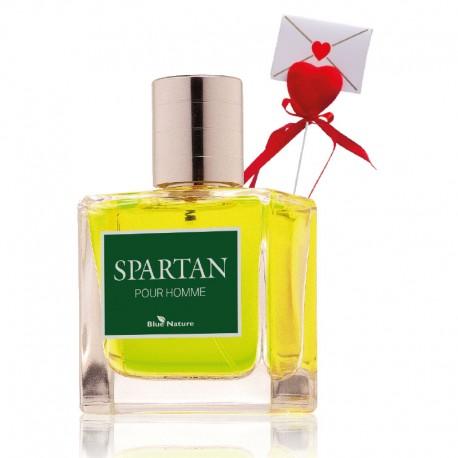 Spartan férfi parfümvíz + Szív levéllel