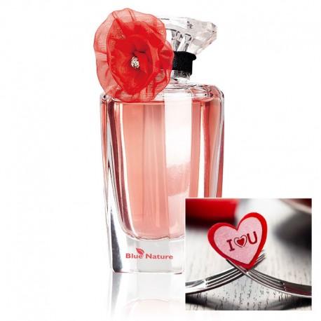"""La Rosita parfümvíz + """"I love you"""" szívecskéket"""