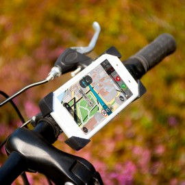 Állítható tartó biciklikormányra
