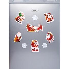 Karácsonyi hűtőmágnes