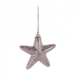 Törhetetlen díszek - csillagok ezüst