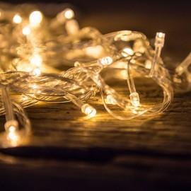 LED-égős ünnepi girland