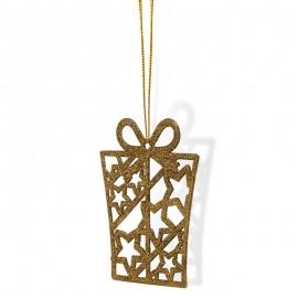 Csillámos ajándékok arany