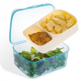 Kivehető tányéros ebédtároló doboz