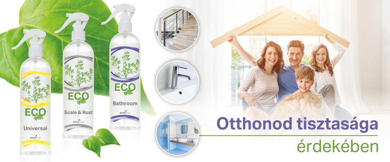 Környezetbarát fürdőszobai tisztítószer